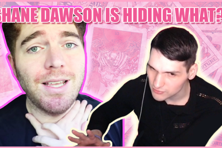 Shane Dawson is hiding something