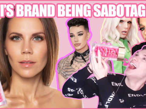 tati westbrook james charles drama halo beauty sabotage