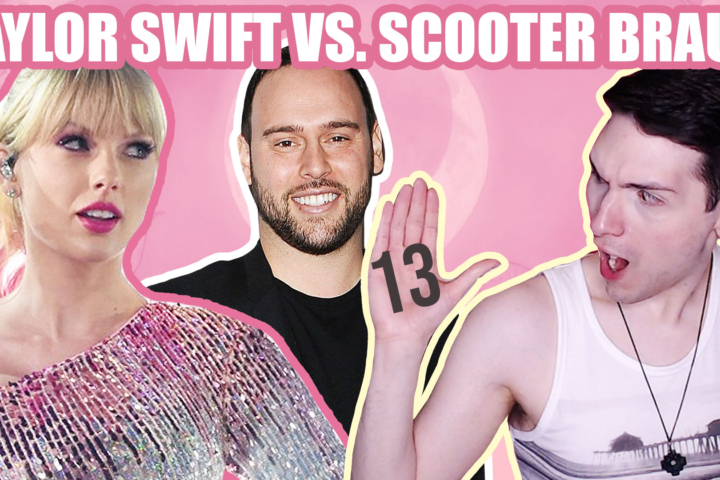 taylor swift vs scooter braun
