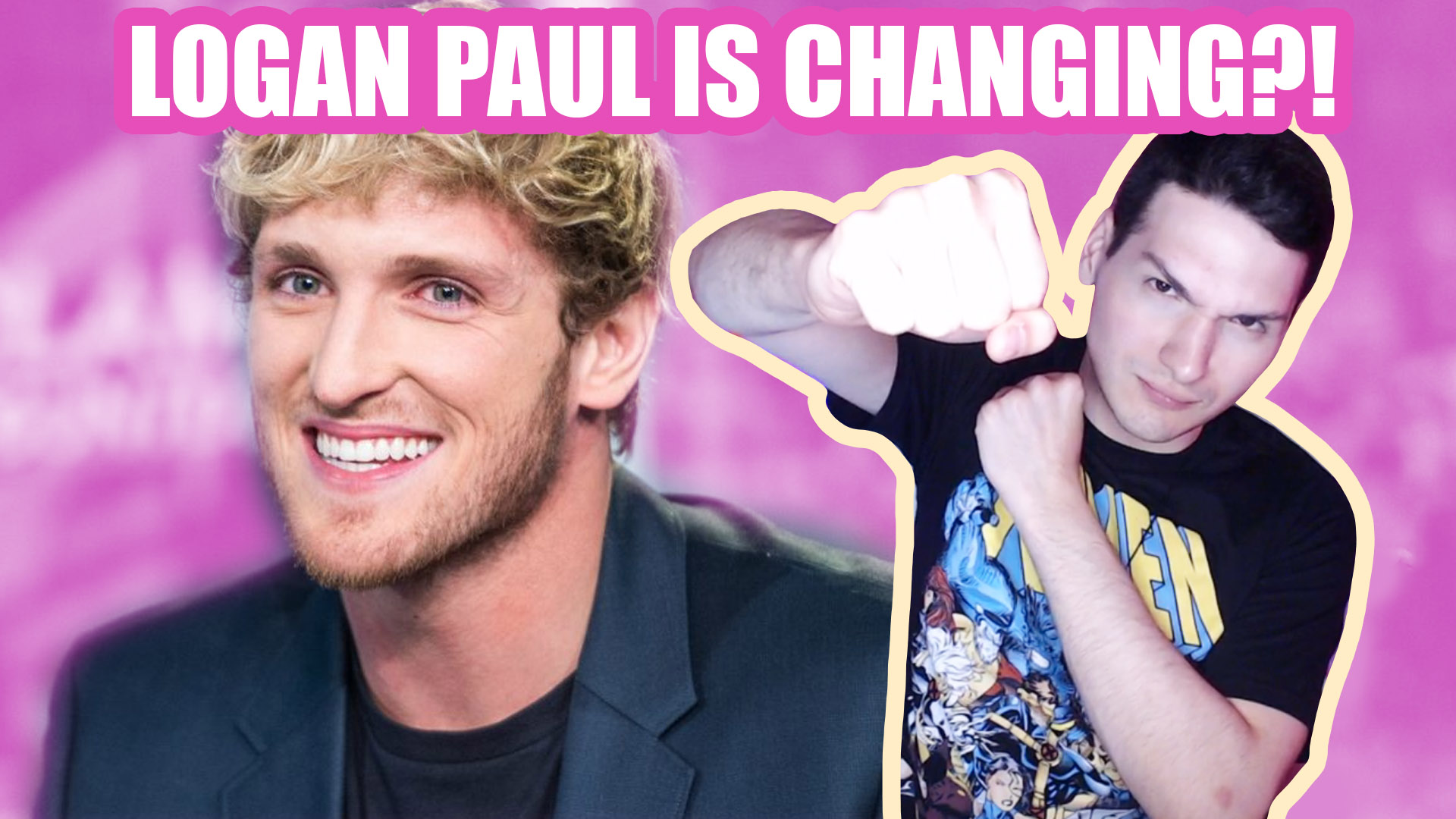 Logan paul is changing