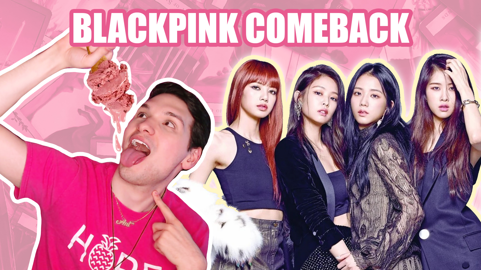 blackpink ice cream