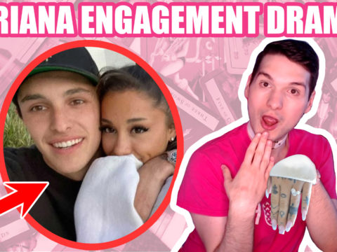 ariana grande engaged