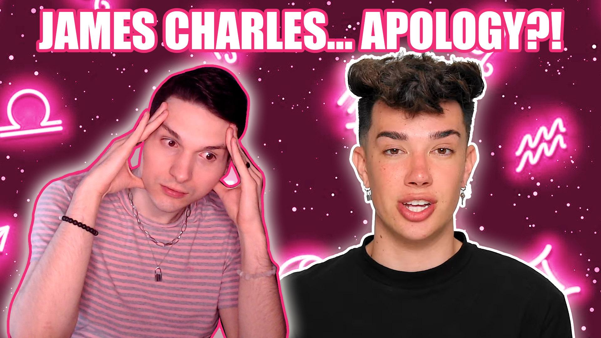 james charles apology