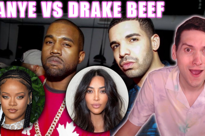 kanye vs drake beef